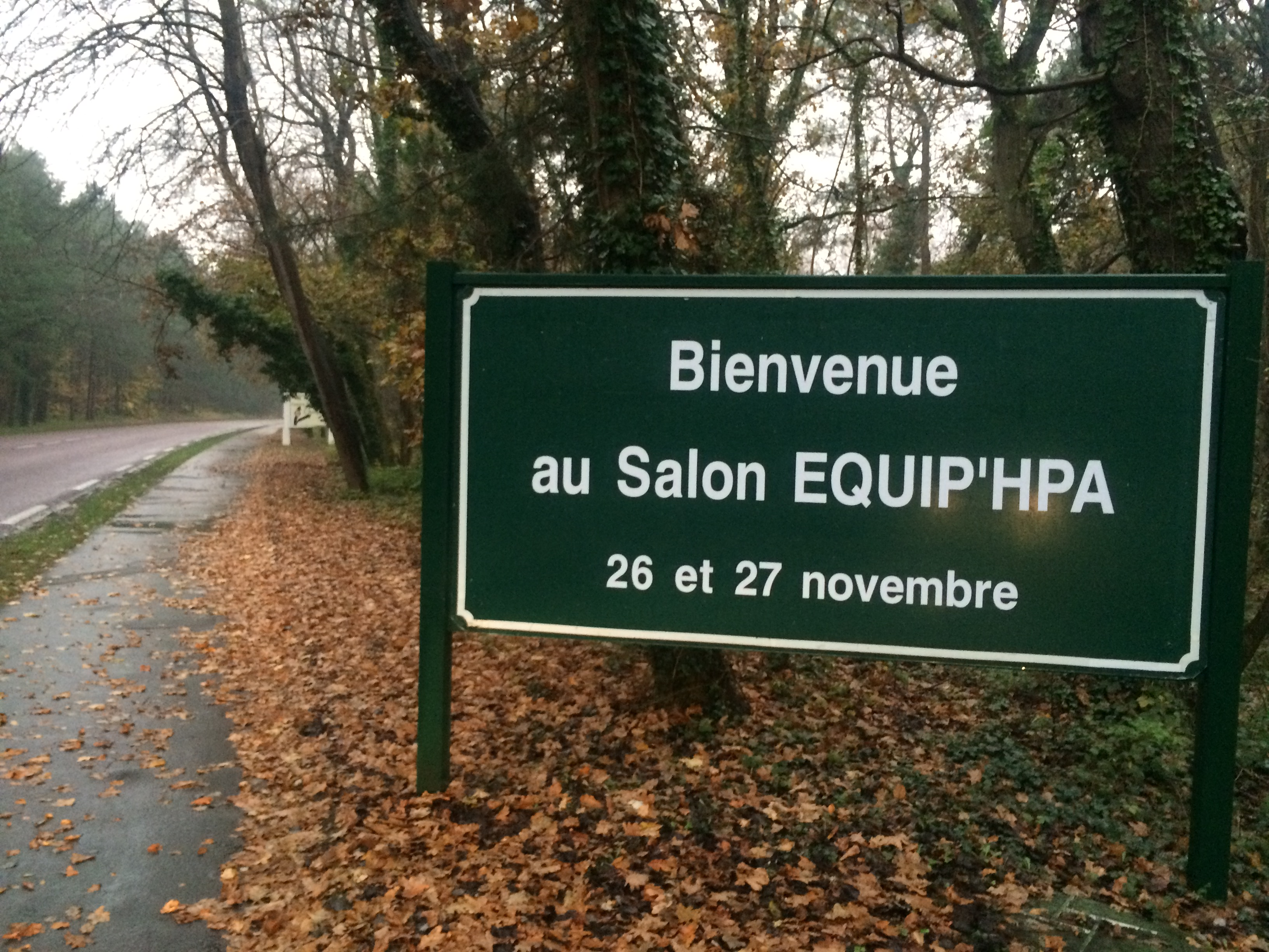 Equip hpa 2014 bienvenue au salon blog hippo camp for Salon hpa touquet